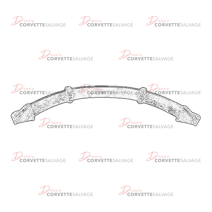 C4 Used Coupe Front Leaf Spring 1984-1996
