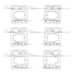 C4 Door Handle Bezel 1990-1996 Illustrations