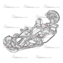 C5 Rear Suspension Assembly 1997-2004 Illustration