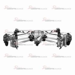 C4 Dana 44 Rear Suspension Assembly 1985-1996 Illustration