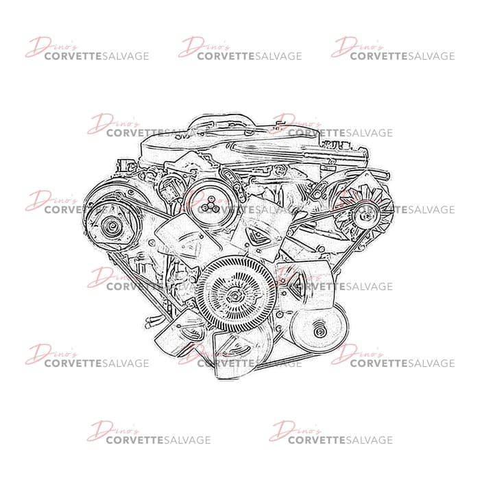 Corvette Engine Diagram