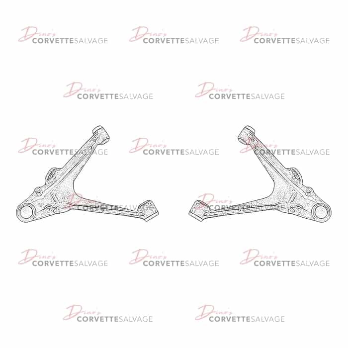 Details about  /Used 97-04 C5 Corvette Front Lower RH Control Arm  sms
