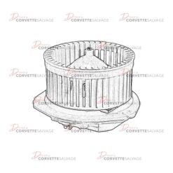 C6-C7 Blower Motor 2005-2019 Illustration