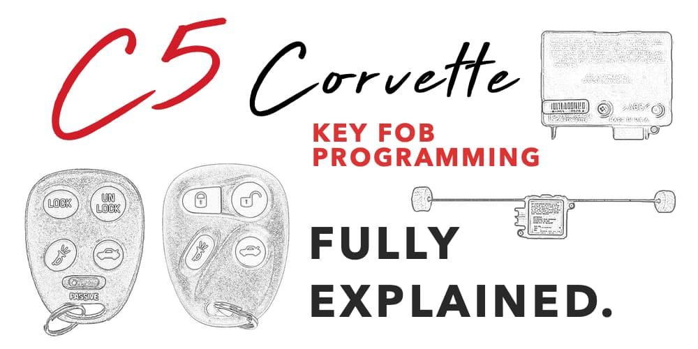 C5 Corvette Key Fob Programming Banner