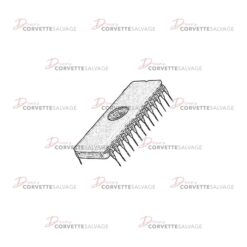 C3-C4 EPROM Chip 1982-1985 Illustration