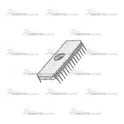 C3-C4 EPROM Chip 1982-1985 Illustration