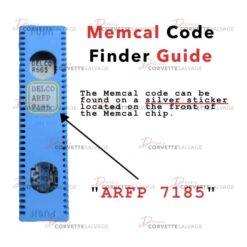 Memcal Code Finder Guide 1986-1995