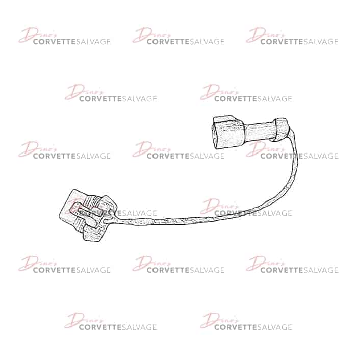 c4 used windshield wiper motor wiring harness 1988