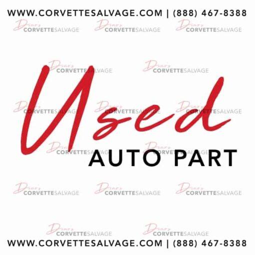 Corvette Salvage Used Auto Part