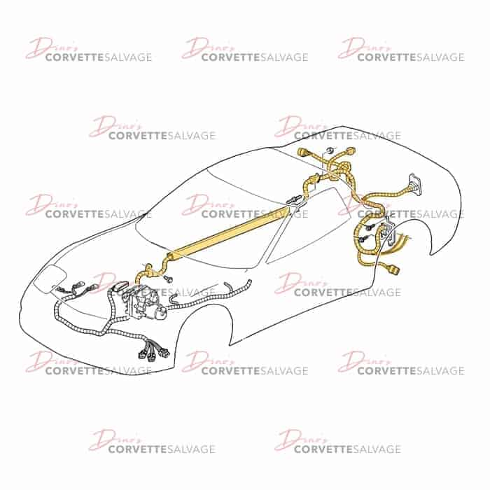 c5 corvette ac wiring diagram c5 used automatic transmission wiring harness 2004 corvette salvage  automatic transmission wiring harness