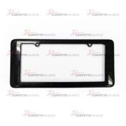 C7 New CFZ License Plate Frame 2014-2019 Front View