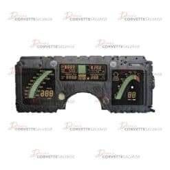 C4 Corvette Digital Instrument Cluster 1984-1989 Illustration