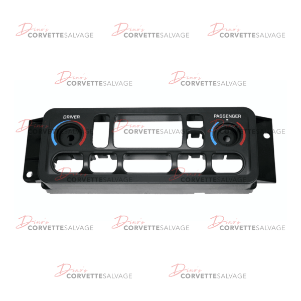 C5 New Dual Climate Control Panel Faceplate 1997-2004