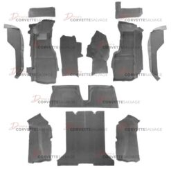 C4 Corvette Coupe Full Carpet Set w/ Mass Backing 1984-1987