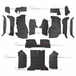C4 Corvette Coupe Full Carpet Set w/ Mass Backing 1992-1993