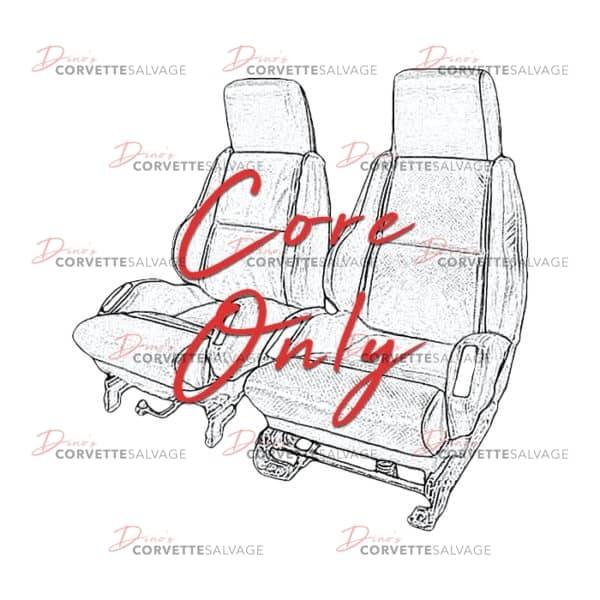C4 Corvette Sport Seat Core 1984-1996