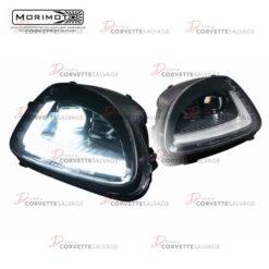 C6 Corvette Morimoto C7 Style XB LED Headlight Set 2005-2013