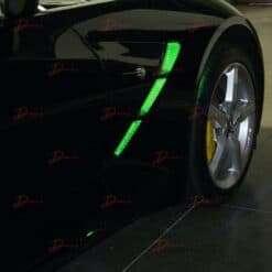 C7 Corvette New Fender Cove SuperBright Green LED Kit 2014-2019