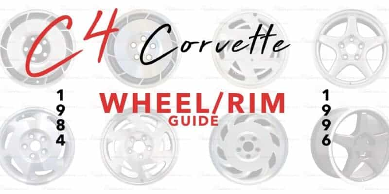 C4 Corvette Wheel/Rim Guide BannerC4 Corvette Wheel/Rim Guide Banner
