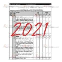 C8 PDF Corvette Order Guide 2021