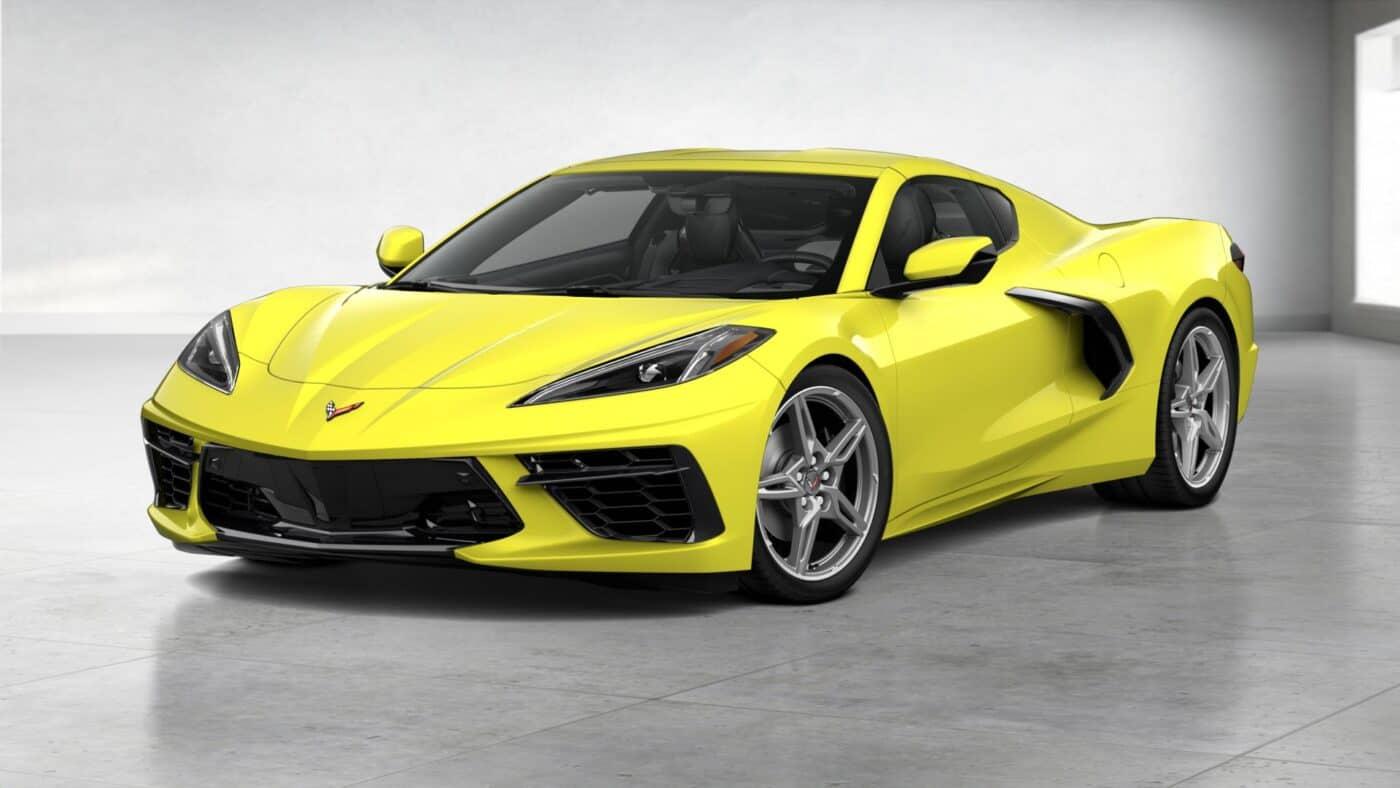 2021 Corvette Stingray Coupe - Accelerate Yellow Metallic Exterior Color