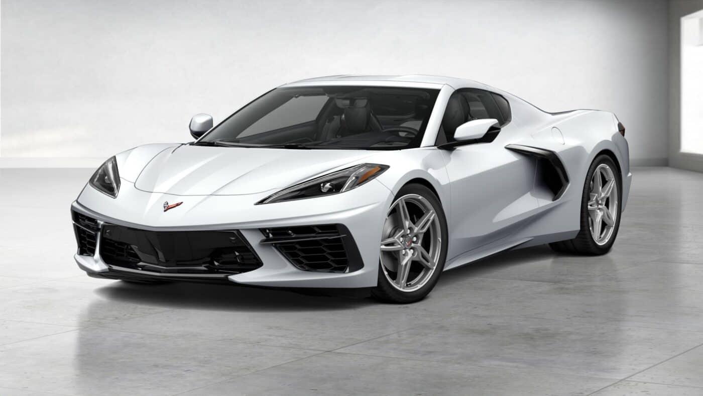 2021 Corvette Stingray Coupe - Arctic White Exterior Color