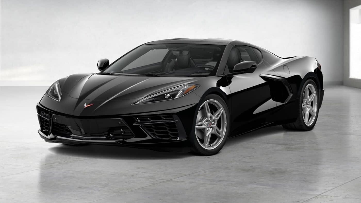2021 Corvette Stingray Coupe - Black Exterior Color