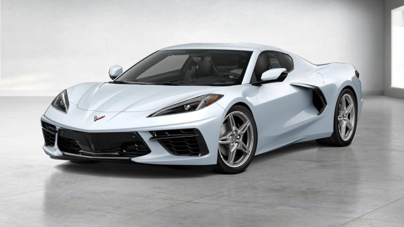 2021 Corvette Stingray Coupe - Ceramic Matrix Gray Metallic Exterior Color