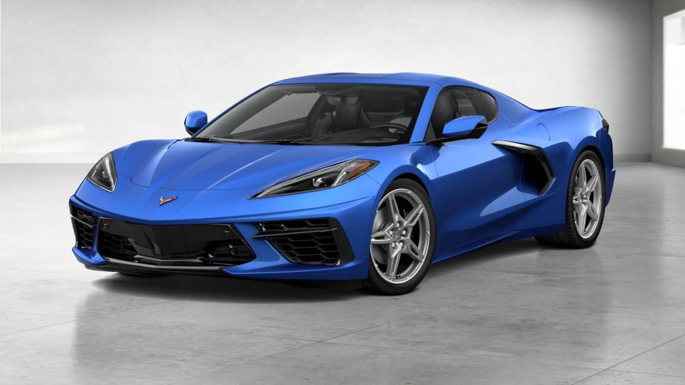 2021 Corvette Stingray Coupe - Elkhart Lake Blue Metallic Exterior Color