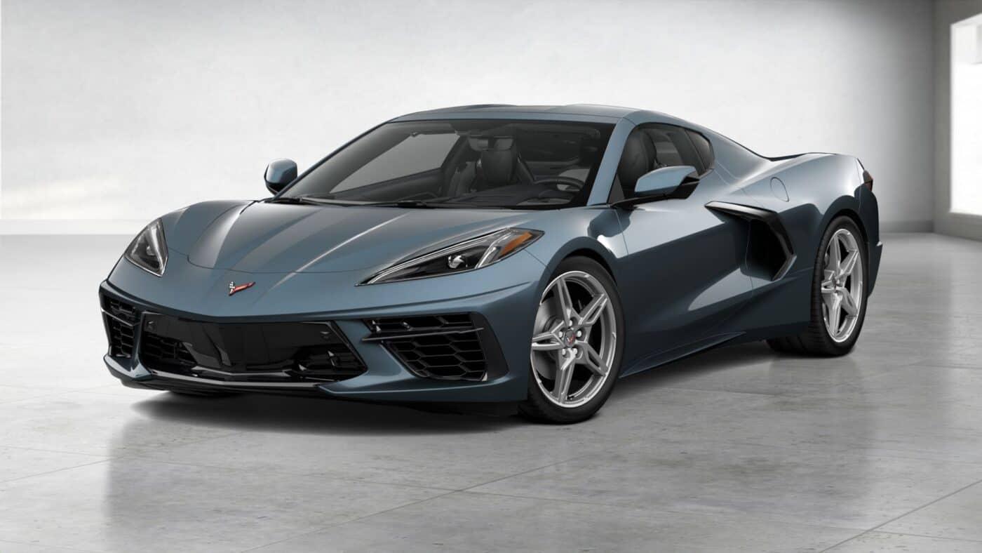 2021 Corvette Stingray Coupe - Shadow Gray Metallic Exterior Color