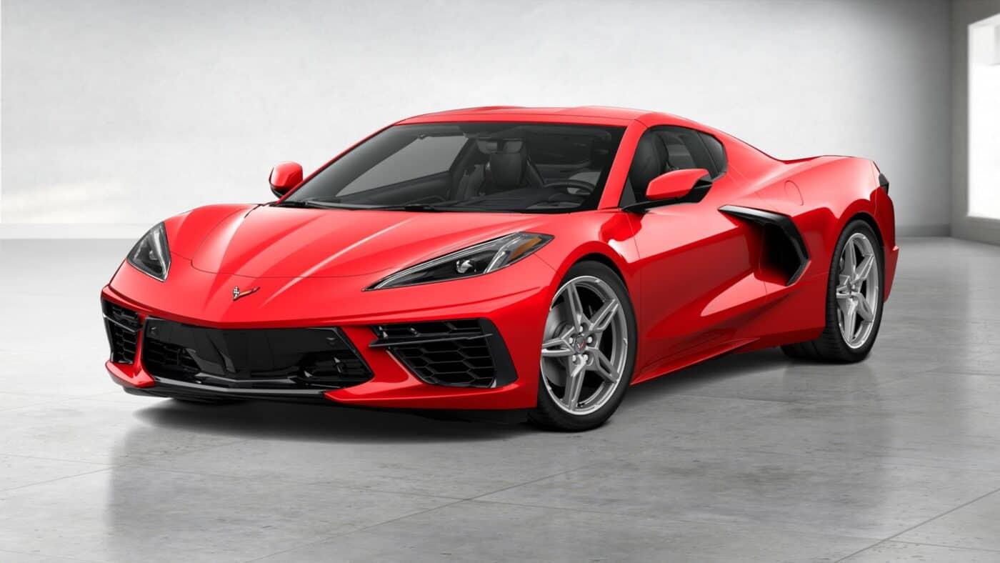 2021 Corvette Stingray Coupe - Torch Red Exterior Color