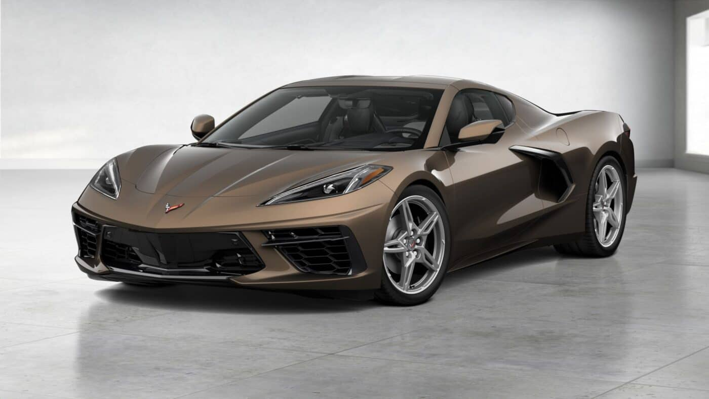 2021 Corvette Stingray Coupe - Zeus Bronze Metallic Exterior Color