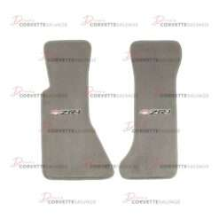 C4 New ZR-1 Corvette Floor Mat Set with Embroidered Logo 1990-1993