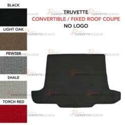 C5 Convertible/Fixed Roof Coupe Corvette New Truvette Cargo Mat 1997-2004